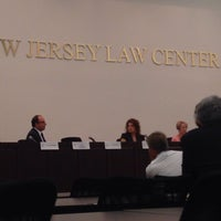Photo taken at New Jersey Law Center by Michael S. on 7/9/2015