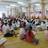 Photo taken at วัดโพธิ์พุฒตาล by Kafaak on 5/13/2014