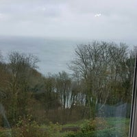 Photo taken at Babbacombe Cliff Railway by SamiPelin K. on 11/18/2015