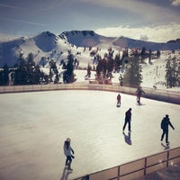 Photo taken at Skating Rink At Squaw Valley by James K. on 2/18/2013