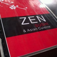 Photo taken at Zen Sushi, Ostras & Ceviche by Anibal M. on 12/16/2011