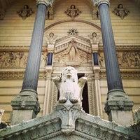 Photo taken at Basilica of Notre-Dame de Fourvière by Florent I. on 3/9/2013