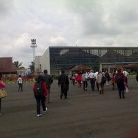 Photo taken at Bandara Radin Inten II Lampung Selatan (TKG) by helen k. on 1/1/2013