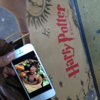Photo taken at Harry Potter: The Exhibition by Nuch M. on 3/23/2013