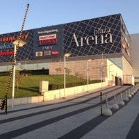 Photo taken at Arena Plaza by Niki V. on 4/20/2013