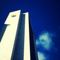 Photo taken at Sheraton Lisboa Hotel & Spa by Henrique F. on 1/21/2013