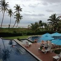 Photo taken at Lanta Pura Beach Resort by Phak on 12/14/2012