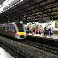 Photo taken at KTM Line - Mid Valley Station (KB01) by Ben G. on 1/27/2013