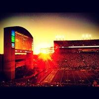 Photo taken at Davis Wade Stadium at Scott Field by StrangeBrewCoffeehouse C. on 9/22/2012