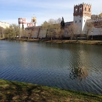 Photo taken at Novodevichy Convent by Дмитрий П. on 5/1/2013