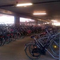 Photo taken at Fietsenstalling Kessel-Lo (Achterzijde Station) by Ward P. on 1/13/2013