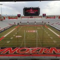 Photo taken at Arizona Stadium by Stadium Journey on 9/4/2013