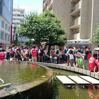Photo taken at 大須公園 by Hiro0138 on 6/28/2015