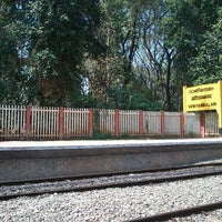 Photo taken at Vaniyambalam Railway Station by Abi A. on 1/25/2013