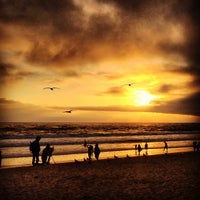 Photo taken at Santa Monica State Beach by Rodrigo L. on 4/1/2013