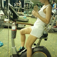 Photo taken at Gym & Fitness Center @ Centric Scene by Pum B. on 8/14/2016