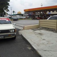 Photo taken at BHP Petrol Desa Jaya by Lowbo S. on 9/29/2012