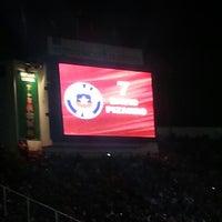Photo taken at Estadio Nacional Julio Martínez Prádanos by Hans Rodrigo A. on 6/12/2013
