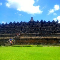 Photo taken at Borobudur Temple by Dian I. on 4/1/2013