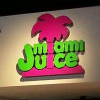 Photo taken at Miami Juice by Lucas C. on 1/15/2013