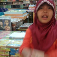 Photo taken at Gramedia by Fityan A. on 5/5/2013