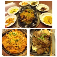 Photo taken at Auntie Kim's Korean Restaurant by Charlotte C. on 5/13/2014