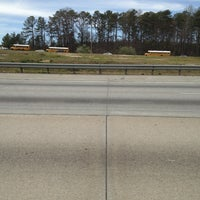 Photo taken at Interstate 85 by Eric V. on 3/20/2013