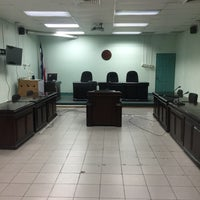 Photo taken at Tribunal Contencioso Administrativo by Javier C. on 10/11/2016