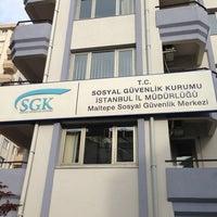 Photo taken at SGK Maltepe Sosyal Güvenlik Merkezi by Mustafa C. on 3/7/2013