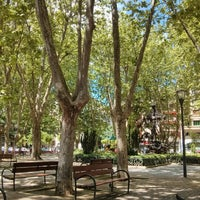 Photo taken at Plaza de la Cruz by Idoia E. on 5/23/2014