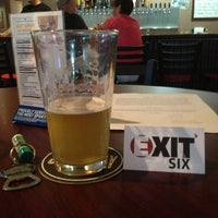 Photo taken at Exit 6 Pub and Brewery by Elizabeth R. on 6/23/2013