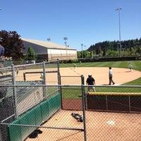 Photo taken at Howe Field by Jennifer on 5/5/2013