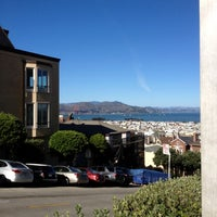 Photo taken at Fillmore Stairs by Petra M. on 11/11/2012