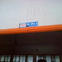 Photo taken at SMA Negeri 1 Medan by Lumongga A. on 8/16/2013