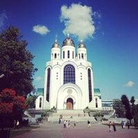 Photo taken at Кафедральный Собор Христа Спасителя by Ana K. on 8/2/2013