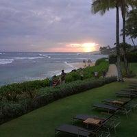 Photo taken at Ko'a Kea Hotel & Resort by Lissa L. on 4/14/2013