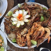 Photo taken at Palma's Sand Sea Food Restaurant by Элик on 10/7/2016