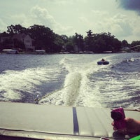 Photo taken at Lake Orion by Lauren L. on 7/4/2013
