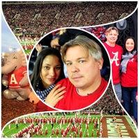 Photo taken at Bryant-Denny Stadium by Jenna G. on 11/11/2013