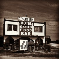 Photo taken at Desert Inn Bar & Restaurant by Cristin on 4/15/2013