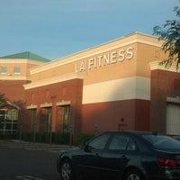 Photo taken at LA Fitness by Jon T. on 6/16/2014