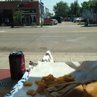 Photo taken at Caffrey's Deli & Subs by Corwin B. on 7/10/2013