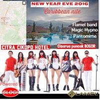 Photo taken at Citra Cikopo Hotel by Hendarslogi on 12/31/2015