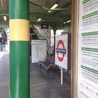 Photo taken at Wimbledon Park London Underground Station by Rich M. on 9/28/2015