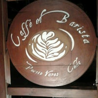 Photo taken at El Barista Caffé by Yoana M. on 1/22/2013
