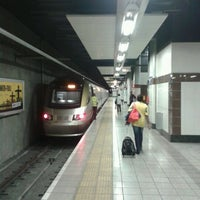 Photo taken at Gautrain Park Station by Bart D. on 1/25/2013