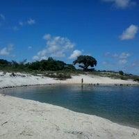 Photo taken at Lagoa do Bonfim by Clarissa V. on 5/30/2013
