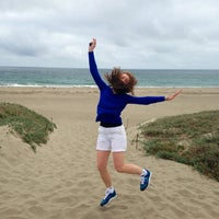 Photo taken at Moss Landing State Beach by Irina G. on 7/16/2013