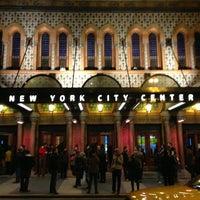 Photo taken at New York City Center by Jeremy H. on 3/2/2013