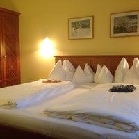 Photo taken at Hotel Goldener Stern by Christian S. on 12/30/2013